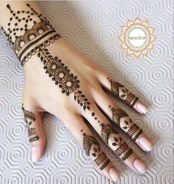 Here we pick the latest and trendy assortment of Mehndi Designs