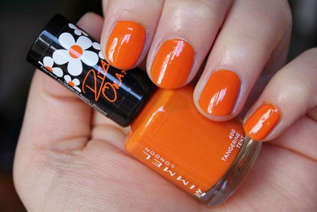 Unghie estate 2015: smalto arancione