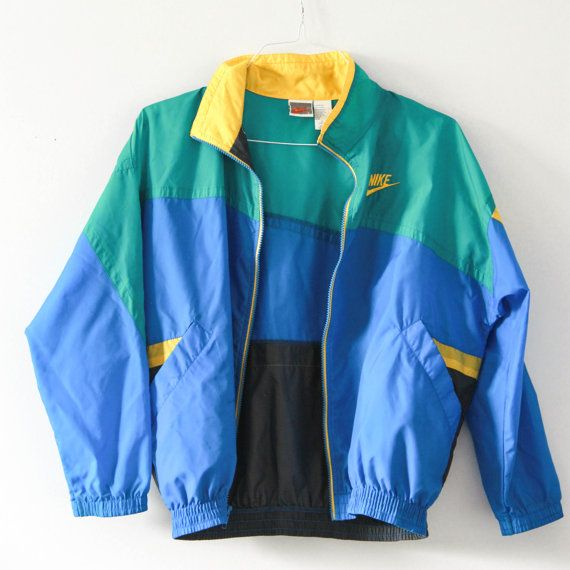 Vintage Nike Windbreaker by ByeGone on Etsy
