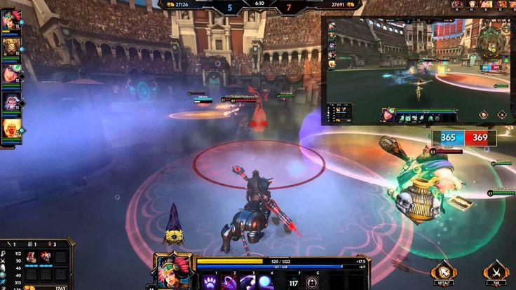 Our first #Smite video at #PushStartPlease