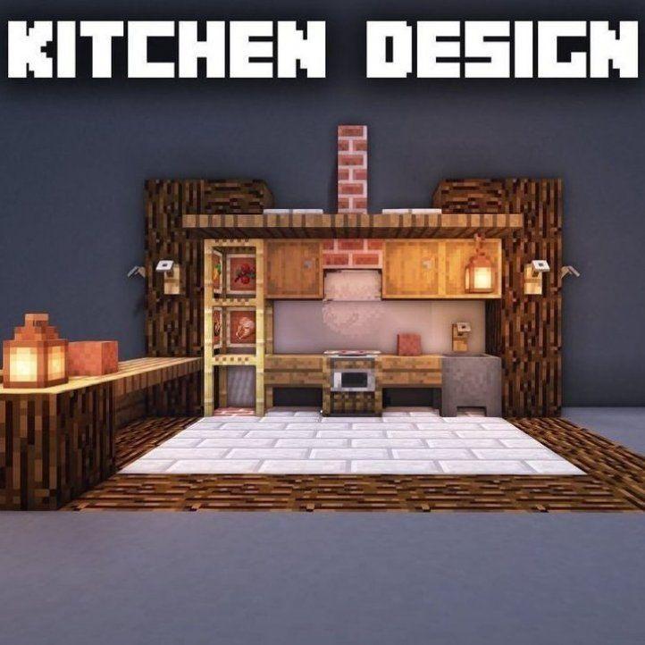 Minecraft Kitchen Ideas Modern Minecraft Kitchen Ideas Modern Minecraft Minecraft Kitch Minecraft Kitchen Ideas Minecraft Room Minecraft Interior Design