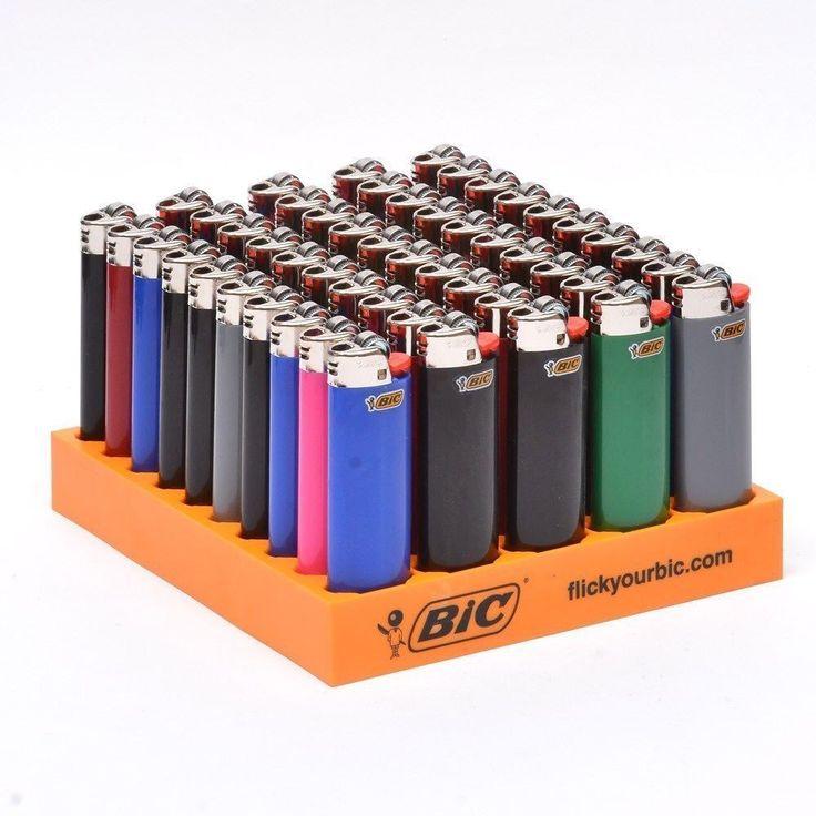 50 Size Big Bic Lighters Disposable Bulk Wholesale Lot Not