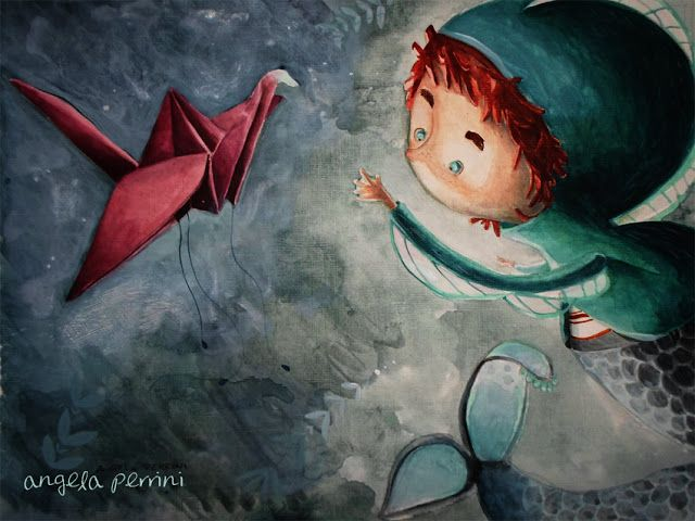il mistero dell'origami e del tritone  Angela Perrini