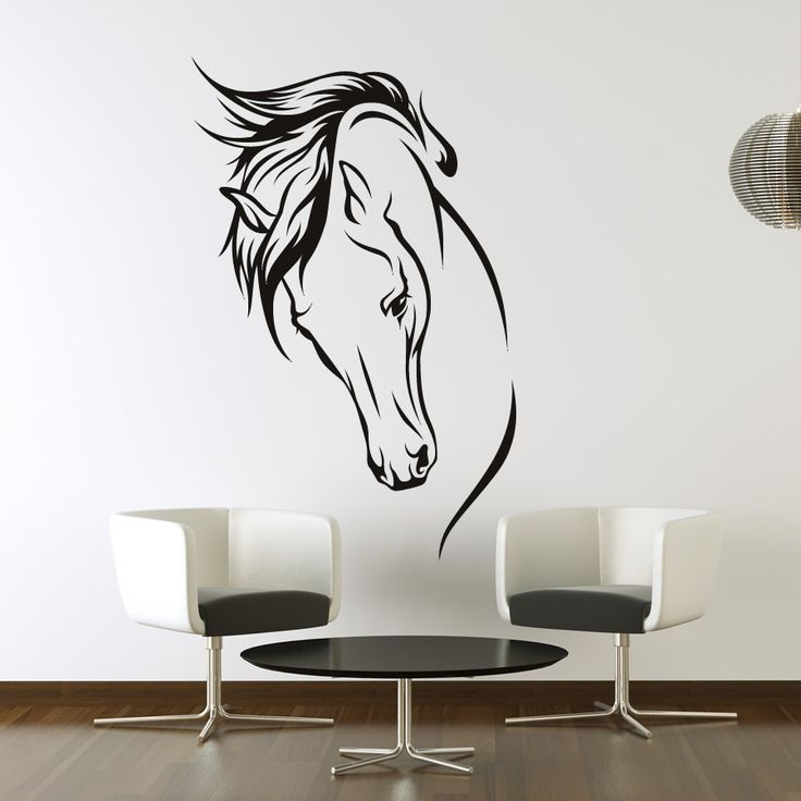 best 20 horse wall art ideas on pinterest - Wall Art Design Decals