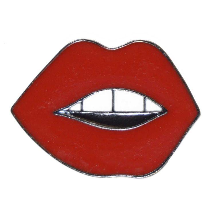 Enamel Pin - Lips