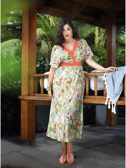 Abito kimono incrociato - Abiti - Donna - Shop & Cartamodelli Il mondo dei cartamodelli e del cucito