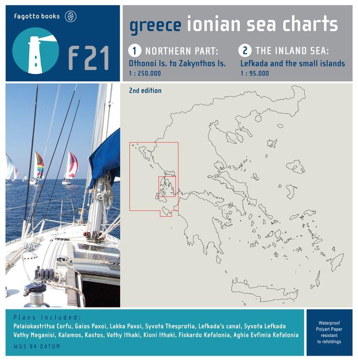 Ionian sea charts