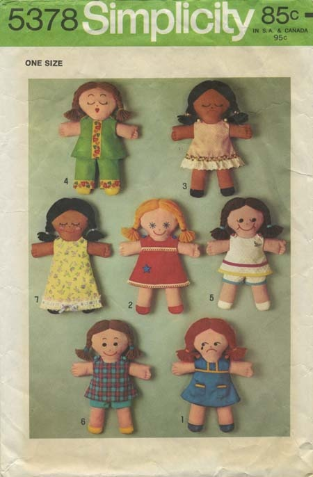 51 best My Vintage Doll & Toy Sewing Patterns images on Pinterest ...