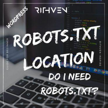 Wordpress robots.txt location
