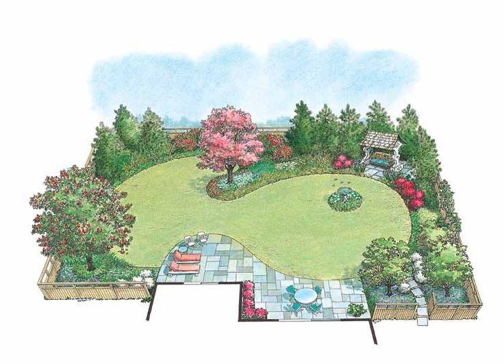 decorating garden design circles