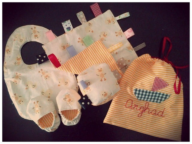 a gift set for baby arghad