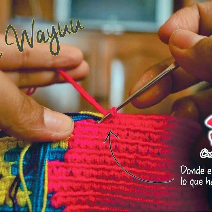 Bit of Color: Hoe haak je een look-a-like van een Wayuu Mochila-tas?