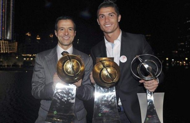 CR7 and Jorge Mendes
