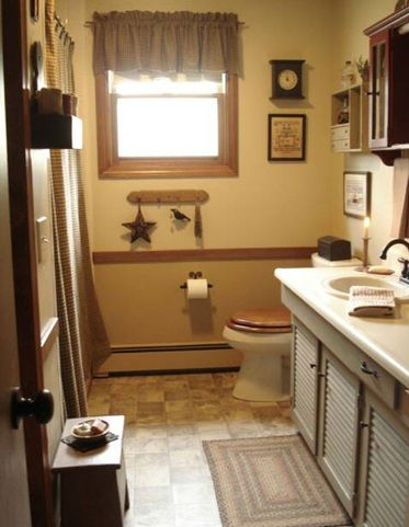 Rustic Wall Decor For Bathroom best 20+ country bathroom decorations ideas on pinterest | mason