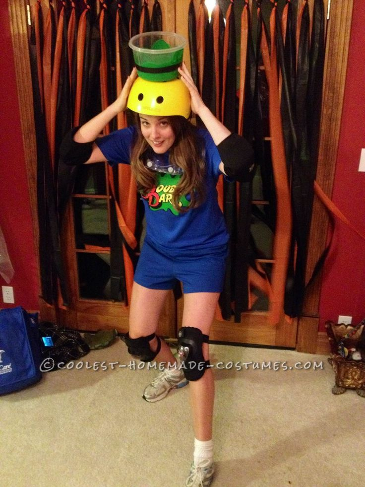 Awesome Double Dare Contestant Costume... Coolest Halloween Costume Contest