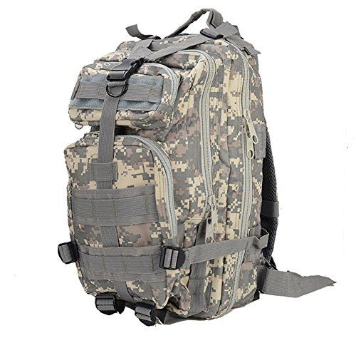 Sport Outdoor Military Rucksacks Tactical Molle Backpack Camping Hiking Trekking Bag - OMJ Outdoors