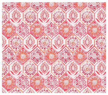 Summer Breeze Outdoor Fabric, Grenadine - mediterranean - outdoor fabric - Jan Jessup