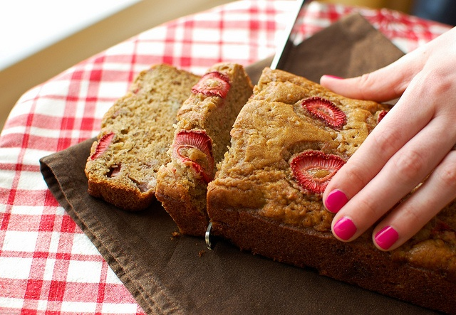 Strawberry Brown Butter Banana Bread | Breads, Muffins & Rolls | Pint ...