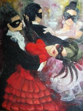 """""""Romance in the valse steps"""" by Dorina Costras #art"""
