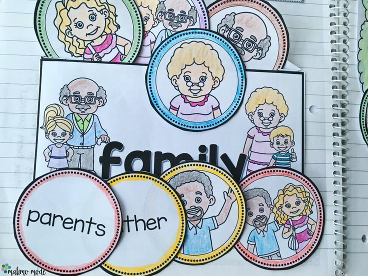 Interactive notebooks are perfect graphic organizers to work on a unit or expanding one! Family - Interactive Notebook Activity and Game - Your Kindergarten, 1st, 2nd, and 3rd grade classroom or homeschool students are going to love this! They'll learn about family members, diverse families, and describing their own family. It's a fun, hands-on notebook and game unit. Check out all 20 pages of great graphic organizers. Appeals to various learning styles. {K, first, second, third grader}