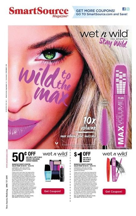 wet n wild printable coupons!  http://www.iheartcoupons.net/2015/10/wet-n-wild-coupons-101815.html