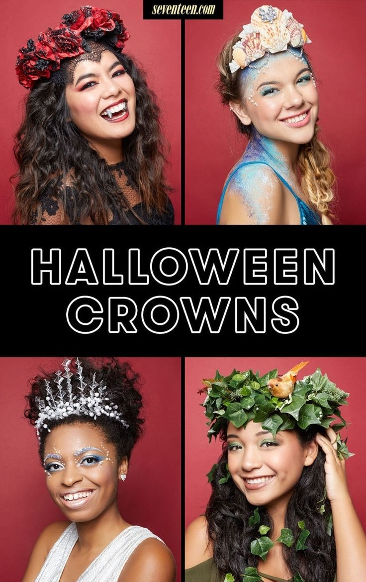 5 stunning diy halloween crowns that are better than a costume - Stunning Halloween Costumes