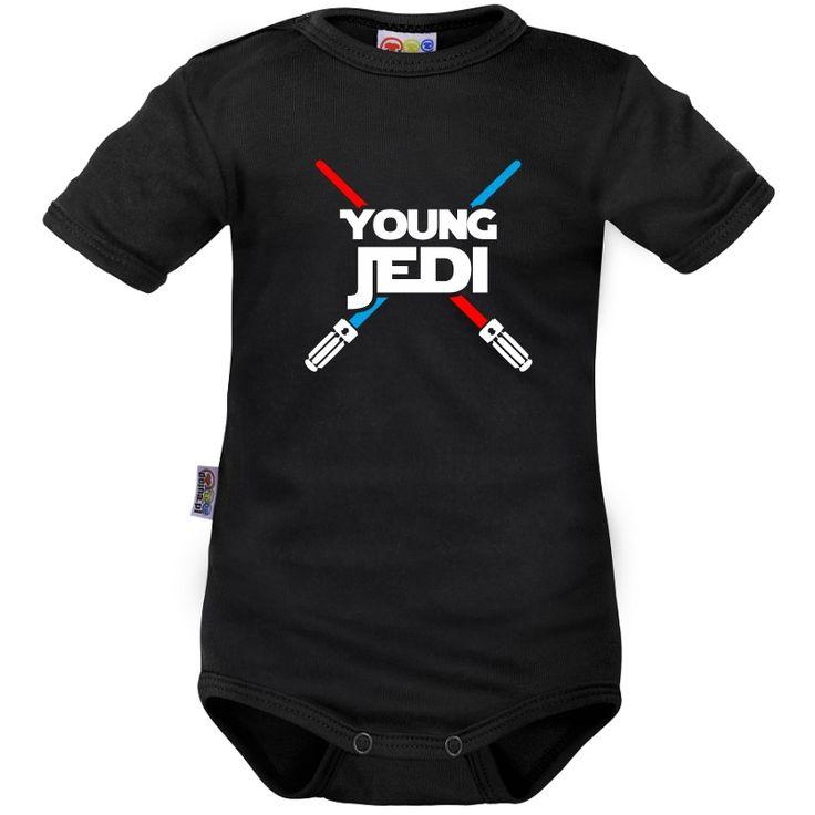 Body bébé : young JEDI - Drôles - Star Wars - Family In Black