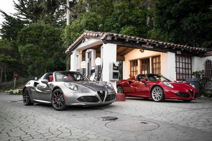 Co może być lepszego niż #AlfaRomeo4CSpider? Dwie Alfy Romeo 4C Spider!
