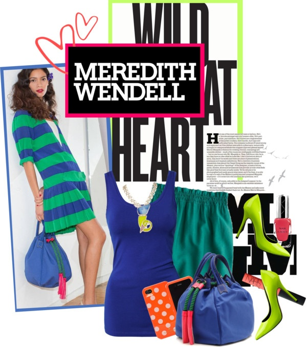 """""""wild at heart with meredith wendell"""" by maria-maldonado ❤ liked on Polyvore"""