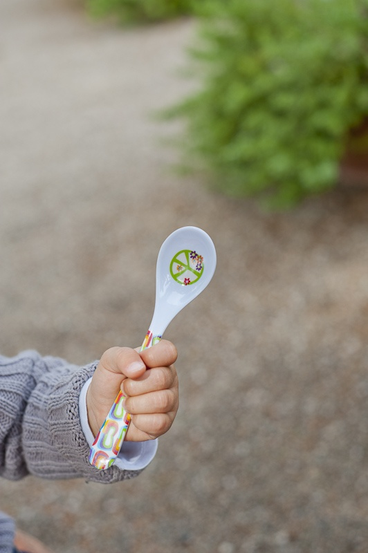 the peace & love spoon!