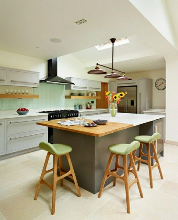 Die besten 25+ Grüne kochinsel Ideen auf Pinterest Küchen design - 20 ideen kuchen planung renomierten herstellern