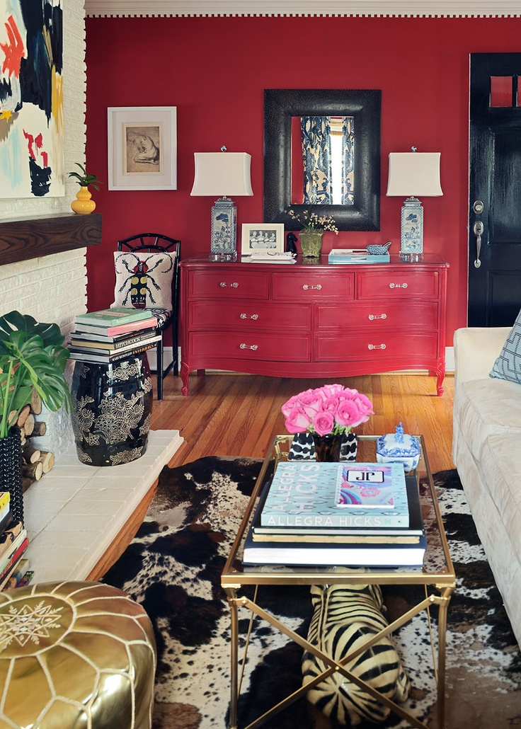 10 best images about Interior Design Using Red in Decor on