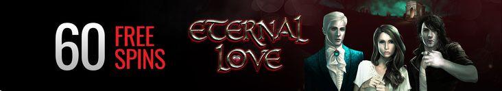 60 free weekend spins bonus on Eternal Love slot at Casino Extreme