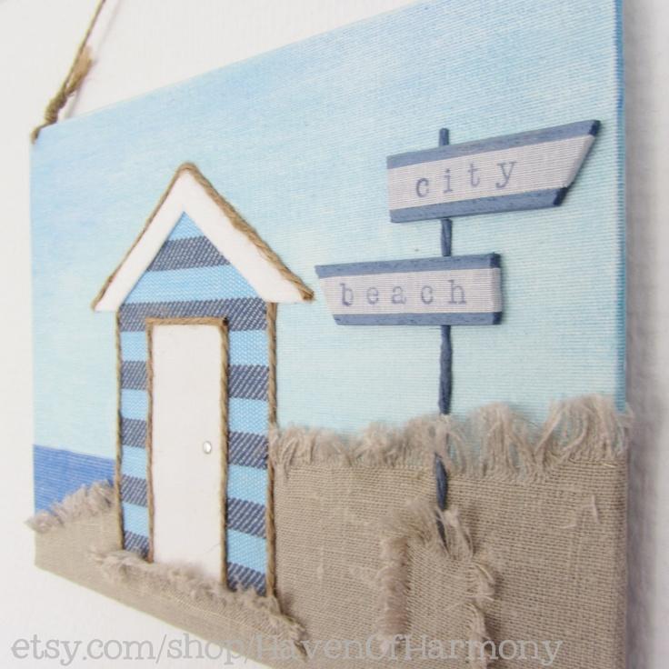81 best textiles unit 3 ideas images on pinterest for Beach hut decoration ideas