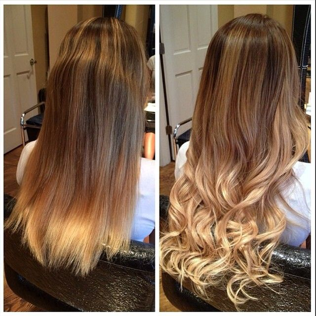282 best b a images on pinterest hair extensions stylists and for this custom balayage hotheads styist alicia iannone was able to add a lighter blonde pmusecretfo Image collections