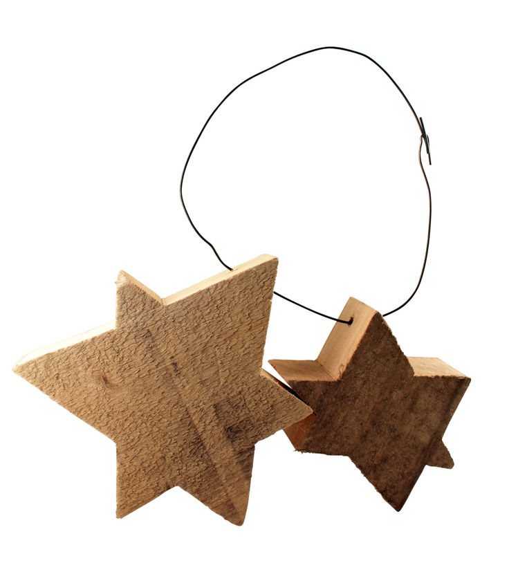 andrea brugi star wreath: Stars Wreaths, Brugi Stars, Beautiful Christmas, Wood Stars, Wood Scrap, Gatherings Wood, Stars Necklaces, Wood Wood, Wooden Stars