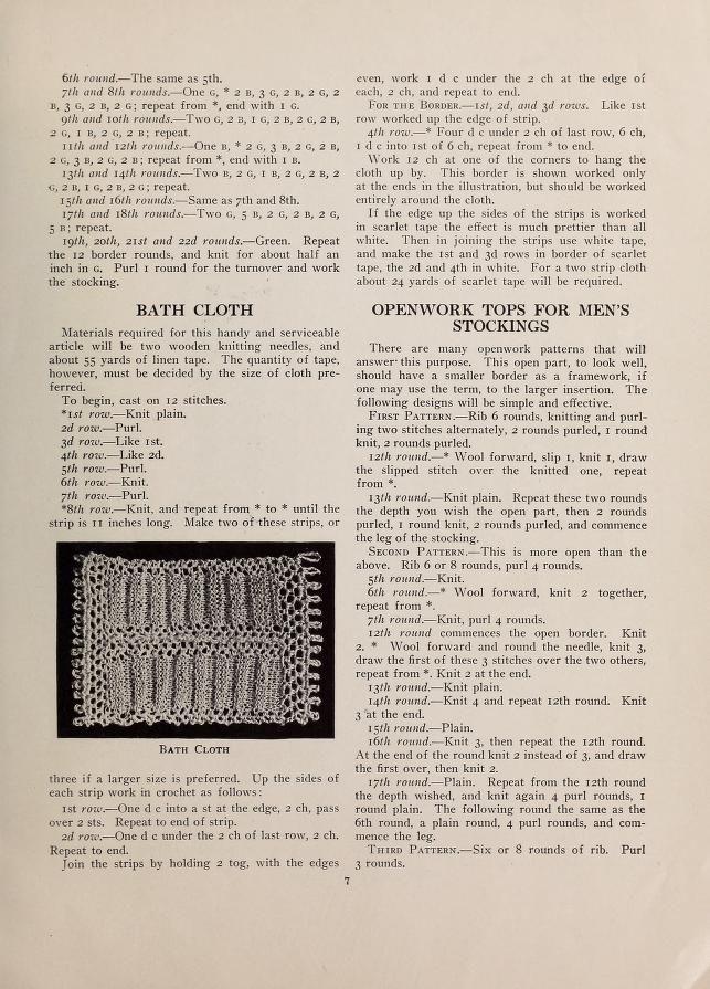 The Priscilla knitting book..