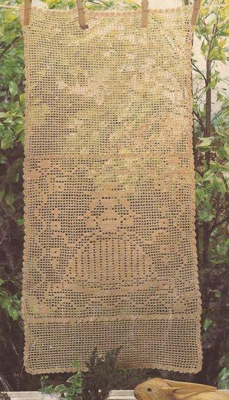 """#46 Panel Decorativo """"La Señorita"""" a Crochet ~ Patrones de Crochet"""