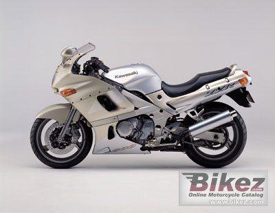 2001 Kawasaki ZZR 600