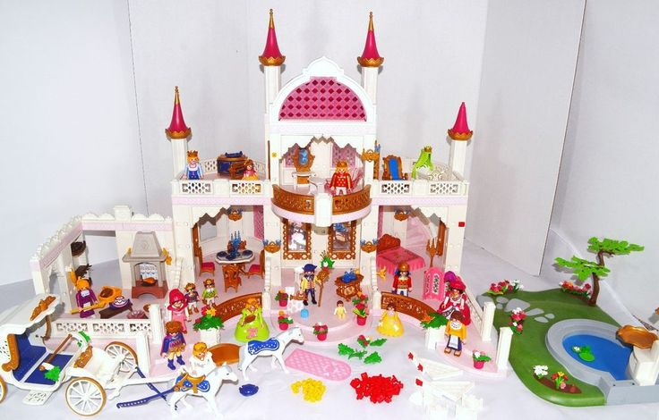 Playmobil Fairy Tale Palace PLUS EXTRAS Lot Magic Castle Set 4250 + More #PLAYMOBIL