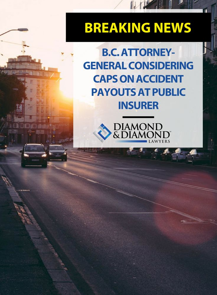 The B.C. Attorney General is looking at reforms that will help improve the dire financial situation at the ICBC, including caps on accident payouts