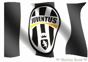 Juventus Calcio bandiera animata