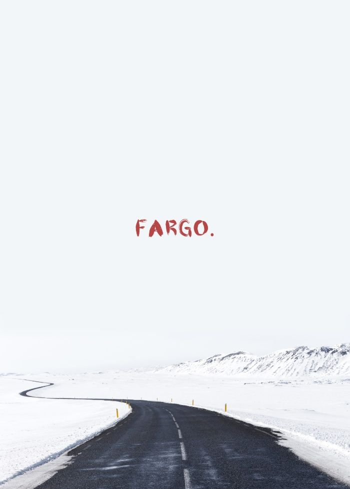 A MOVIE POSTER A DAY: FARGO Art Print