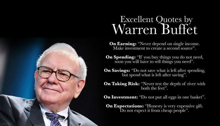 The more you learn, the more you'll earn. Warren Buffett