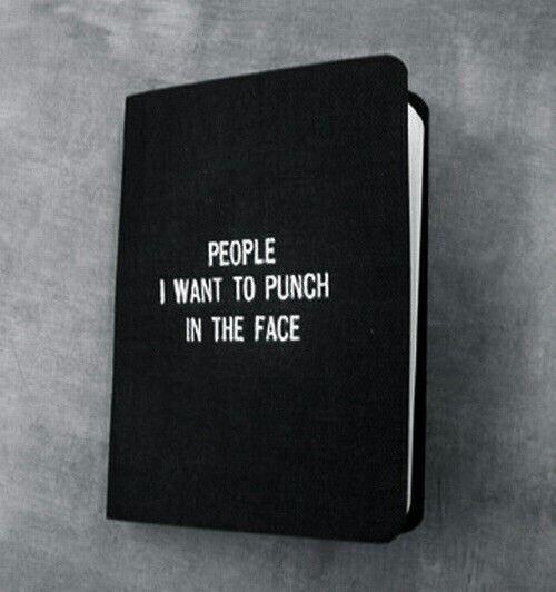 Люди, которых я хочу ударить в лицо