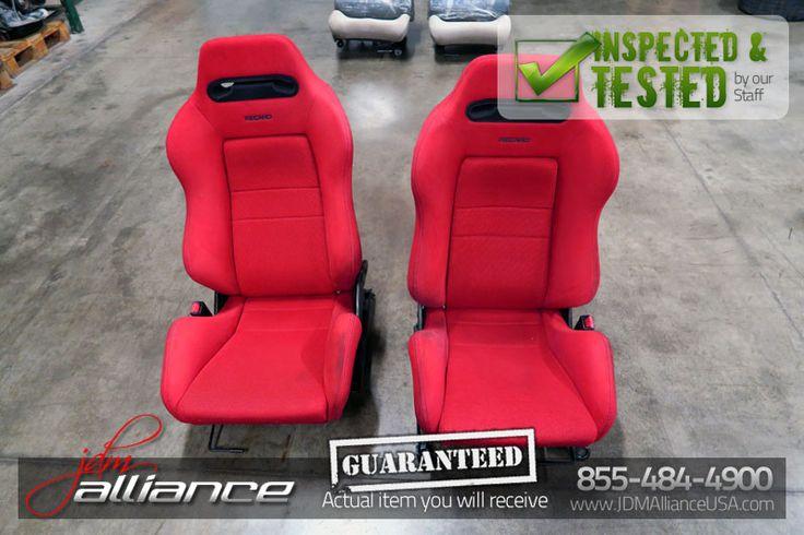 JDM Honda Integra Type R DC2 Red Recaro Seats   #JDMAlliance, #JDMDallas