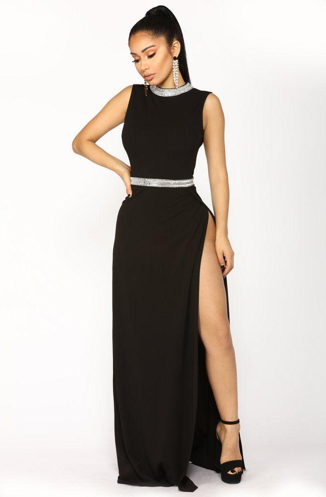 Harper Maxi Dress Black Fashion Nova Dresses Dresses