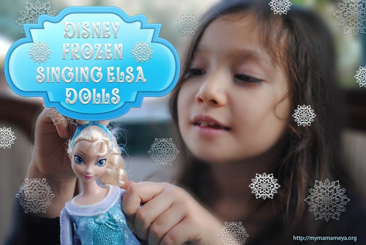 Disney Elsa Frozen Singing Doll http://mymamameya.org/disney-elsa-frozen-singing-doll/