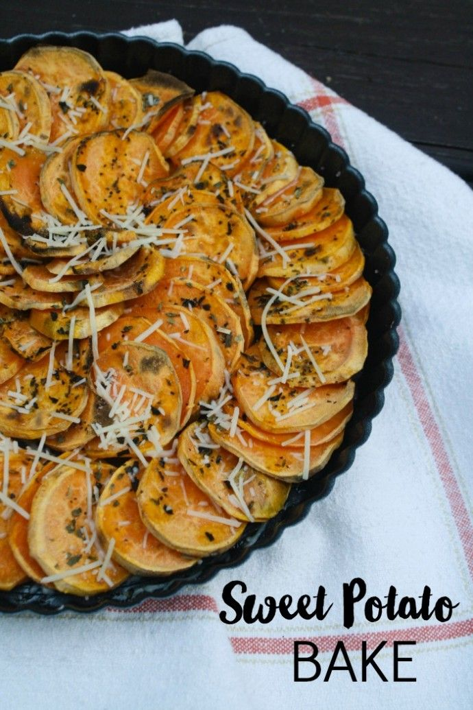 This healthy side dish couldn't be easier! Sweet Potato Bake goes with just about any meal.