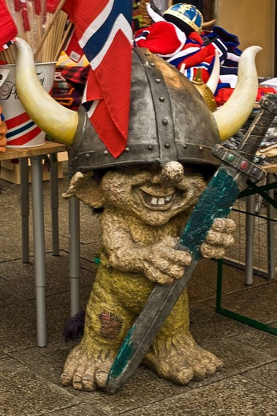 Went to Oslo and fell in love with their trolls!